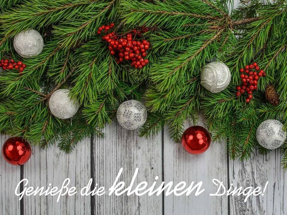 Weihnachtskarten-Zitat