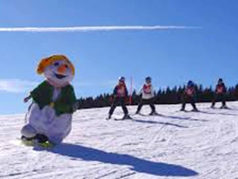 Laufzimi beim Skifahren mit Kindern